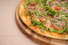 Arugula Pizza Detail