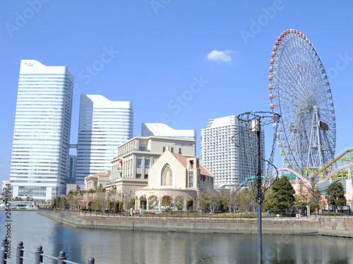 Valokuva  神奈川県横浜市みなとみらいの風景