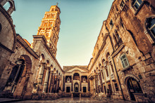 The Diocletian's Palace In Spl...