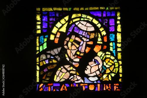Fotografia Saint-Antoine de padoue et l'Enfant Jésus