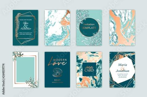 Fotografie, Obraz  Summer sea card template