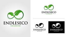 Infinity Eco Logo Template Set