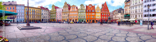 WROCLAW, POLAND - APRIL 22, 2019: Wroclaw Old Town Fototapeta