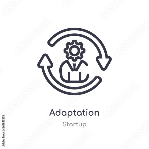 Valokuvatapetti adaptation outline icon