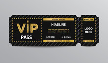 VIP Pass Admission Ticket