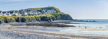 Panoramic View Of Scenic Beach...