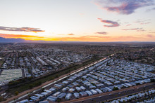 Aerial Photo Of Mesa Arizona Retirement Communities Motor Homes Trailer Parks