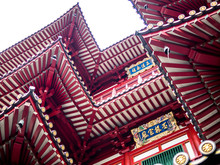 Outside Buddha Tooth Relic Temple And Museum, Singapore