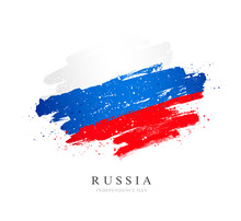 Russian Flag. Independence Day...