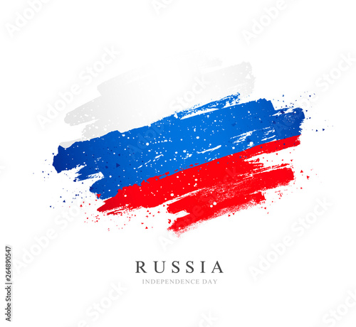 Obraz Russian flag. Independence Day of Russia. - fototapety do salonu