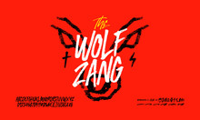 The Wolf Zang Rough Font, Hand...
