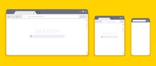 Browser Mockups. Website Inter...