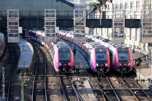 Tablou Canvas Paris - Gare Saint-Lazare