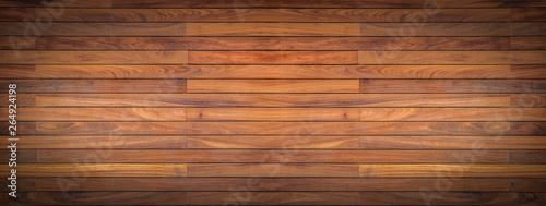 Fotografiet  Old wood wall Texture ,floor wooden background