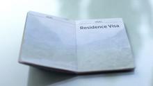 Residence Visa, Opened Passpor...