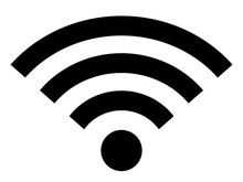 Wifi Icon Wireless Internet Connection Signal