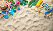 Leinwandbild Motiv Summer holidays concept