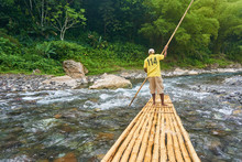 Bamboo Rafting On The Beautifu...