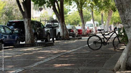 Foto op Plexiglas Fiets bicycle in the park