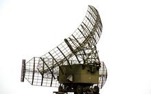 Military Radar Standing On The...