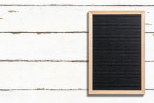 Letterboard, Auf Weißem Holz-...