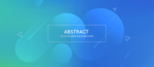 Abstract Futurictic Banner Wit...