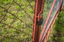 Gate Closed With A Padlock - F...
