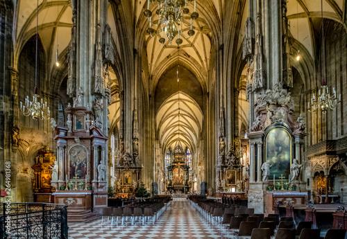 Fotografia  Das Wiener Wahrzeichen – Der Stephansdom, Österreich