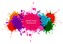 Abstract Vector Liquid Colorful Background Design. Illustration Vector Design