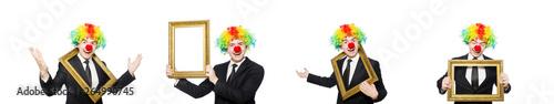Fotografija Clown isolated on the white background