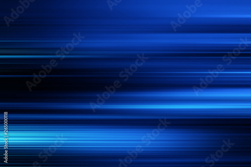 Fototapety, obrazy: blue technology abstract motion background of speed light