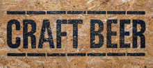 Sign For Craft Beer
