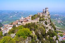 San Marino Old Town, Republic ...