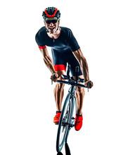 Triathlete Triathlon Cyclist C...