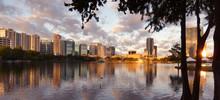 Downtown Orlando Sunrise In La...