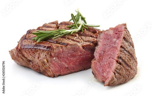 grilled beef fillet steak meat Fototapeta
