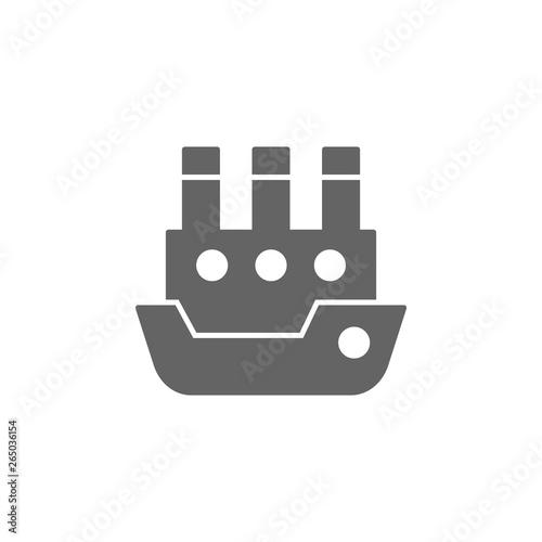 Valokuva Ship, steamboat, steamship, vessel icon