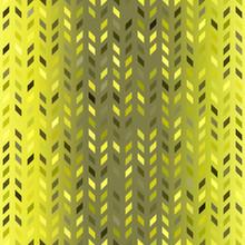 Glowing Polygon Pattern. Seamless Vector