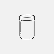 Jar Vector Icon
