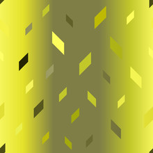 Glowing Polygon Pattern. Seaml...
