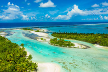 Rangiroa Aerial Drone Video Of...