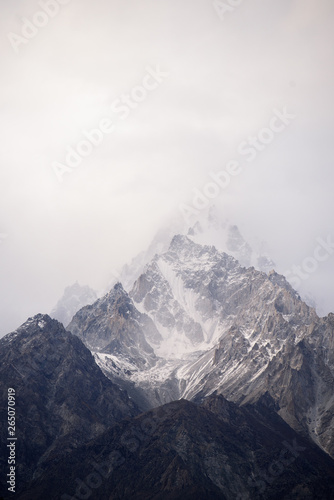 Fototapeta beautiful mountain in nature landscape view from Pakistan obraz