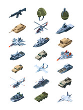 Military Isometric. Security G...