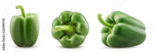 Set green bell pepper - 265099718
