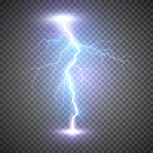 Lightning Flash Bolt Or Thunde...