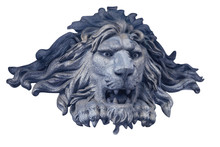 Marble Sculpture Of A Lion Hea...