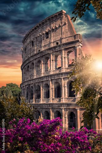Fotografia, Obraz  The Colosseum in Rome, Italy