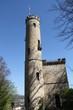 kleine Burg mit Zitadellenturm vor blauem Himmel in Deutschland Hannoversch Gemünden