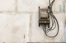 Old Rusty Unkempt Electric Shi...
