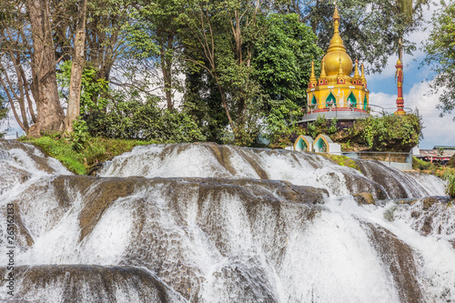Photo  Pwe Gauk Waterfall Pyin Oo Lwin Mandalay state Myanmar (Burma)